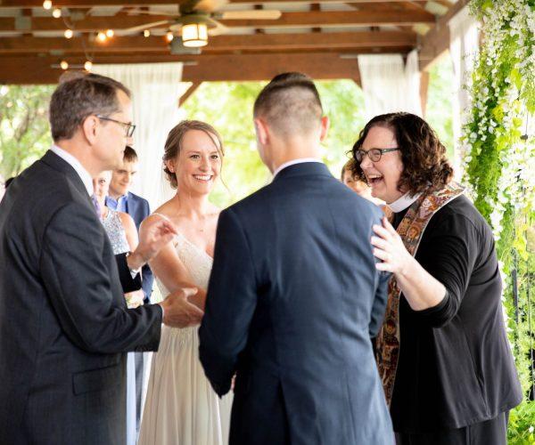 Wedding Laughing