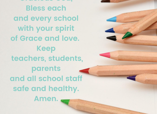 A Prayer For Schools