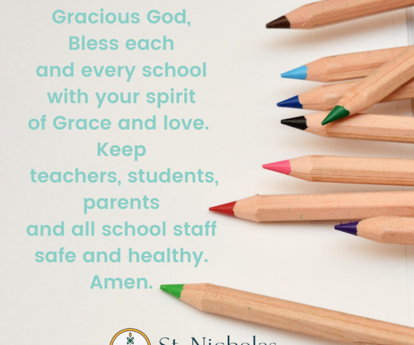 A Prayer For Schools